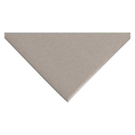 Antifatigue Mat, Gray, 3ft. x 5ft.