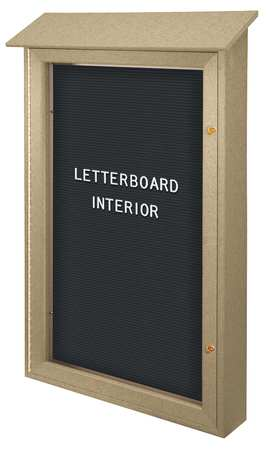 united-visual-products-uvsd4226lb-sand-outdoor-enclosed-letter-board-42x26