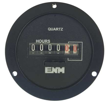 Electro-Mechanical Hour Meter, Round
