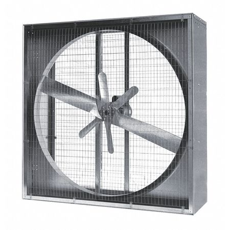 Agricultural Exh Fan, 48 In, 230/460V, 3-Ph