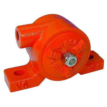 Pneumatic Vibrator, 270 lb, 4200 vpm, 80psi