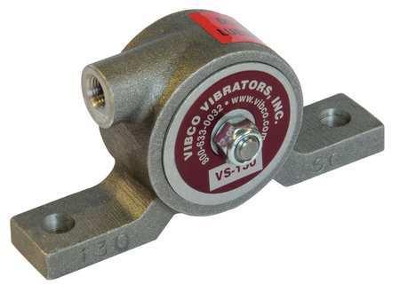 Pneumatic Vibrator, 75 lb, 8000 vpm, 80 psi
