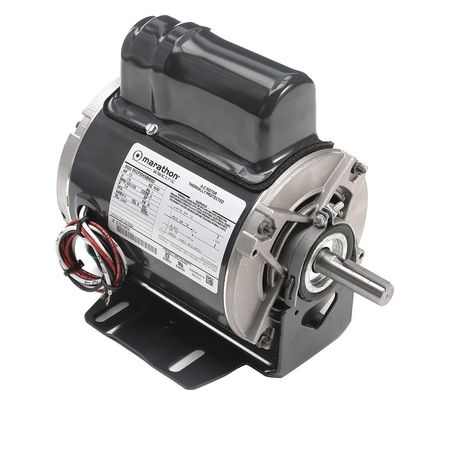 Instant Rev Motor, 1/3 HP, 1625 RPM, 115 V
