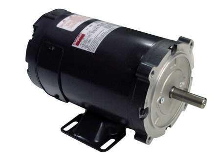 DC Motor, PM, TENV, 1/3 HP, 1800 rpm, 12VDC