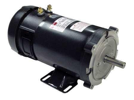 DC Motor, PM, TEFC, 3/4 HP, 1800 rpm, 12VDC