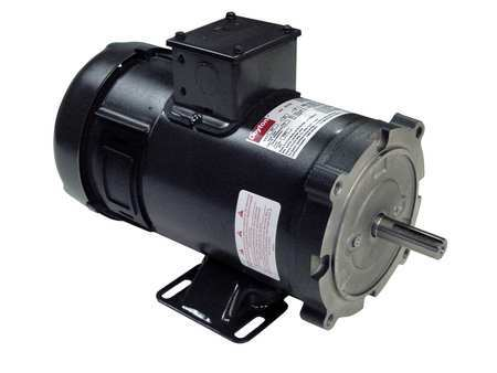 DC Motor, PM, TEFC, 3/4 HP, 1800 rpm, 24VDC