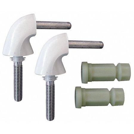 bemis toilet seat parts. Toilet Seat Hardware  2 Hinges w Nuts Bemis HK84 000 Zoro com