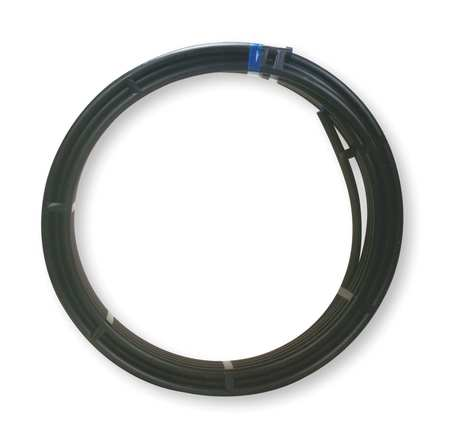 PolyTubing, Flexible, OD 1.07 In, 400 Ft