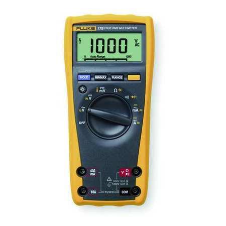 Digital Multimeter, 50 MOhms, 1000V, 10A