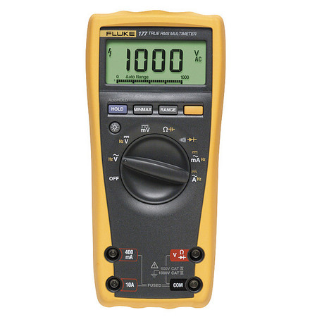 Digital Multimeter, 1000V, 50 MOhms, 10A