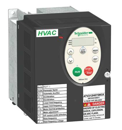 Variable Frequency Drive, 2 HP, 208-240V