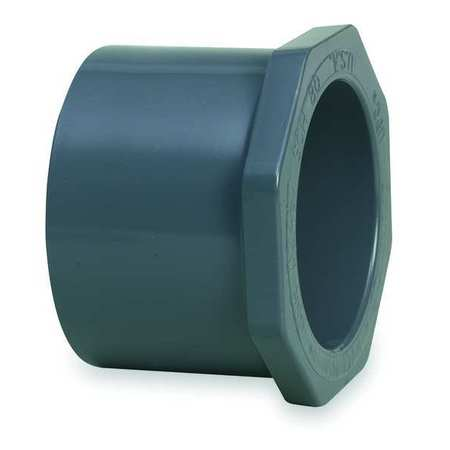 "2-1/2"" Spigot x 1-1/2"" Socket PVC Reducing Bushing"