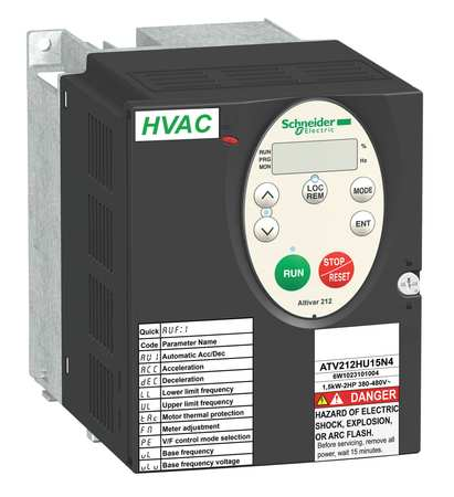 Variable Frequency Drive, 2 HP, 400-480V