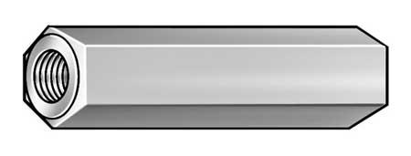 Hex Standoff, SS, #2-56x1/8 L, Pk10
