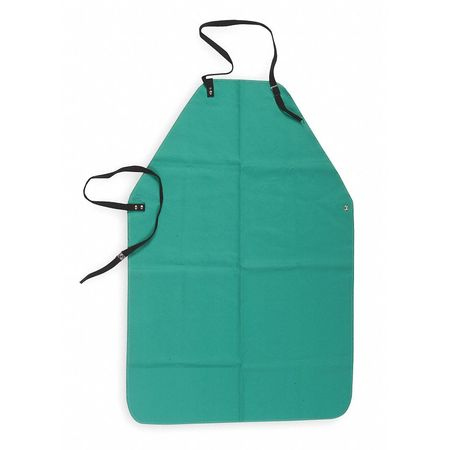 Flame Resistant Apron,  Green,  Cotton