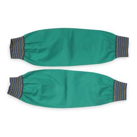 Flame Resistant Sleeve,  Green,  Cotton