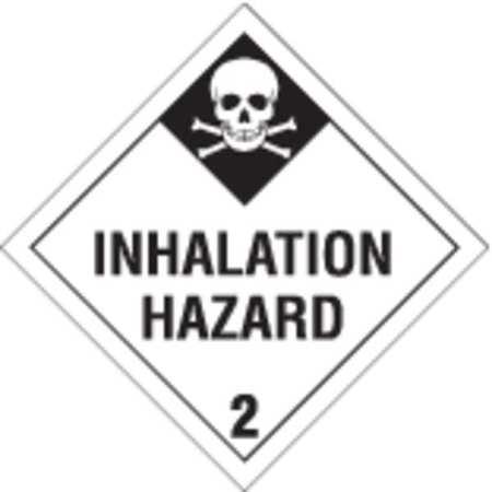 Vehicle Placard, Inhalation Hazard