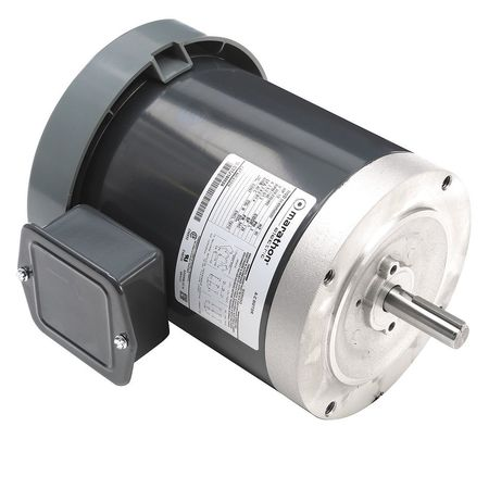 GP Mtr, 3 Ph, TEFC, 1/2 HP, 1140 rpm, 56C
