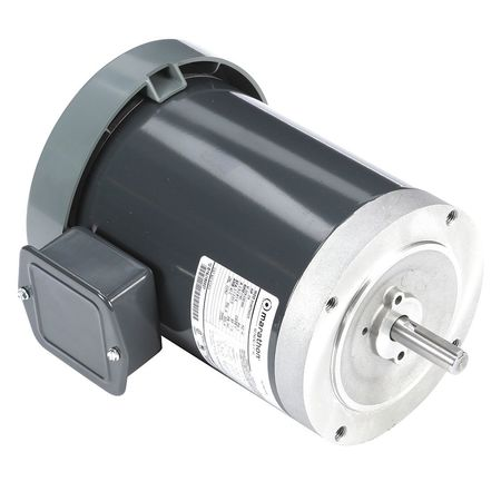 GP Mtr, 3 Ph, TEFC, 3/4 HP, 1140 rpm, 56C