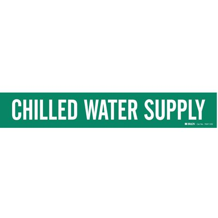 Pipe Mkr, Chilled Water Supply, 8In orGrtr
