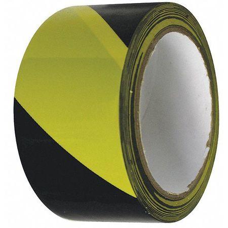Warning Tape, Roll, 2In W, 54 ft. L