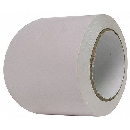 Aisle Marking Tape, Roll, 3In W, 108 ft. L