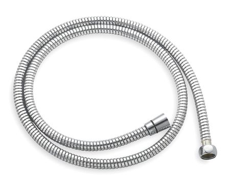 "1/2"" Flexible Shower Hose 59""L,  Chrome"