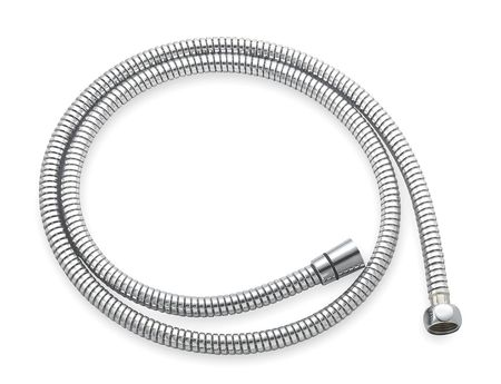 Flexible Shower Hose,  Connection 1/2 In.,  Length 72 In.,  Chrome