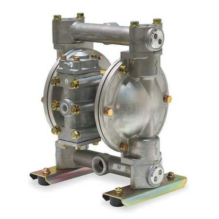 "3/4"" Stainless Steel Air Double Diaphragm Pump 21 GPM 212F"