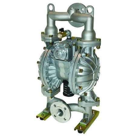 "1-1/2"" Aluminum Air Double Diaphragm Pump 115 GPM 212F"