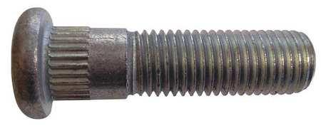 Wheel Bolt, Zinc, M12-1.5x46mm L, PK25