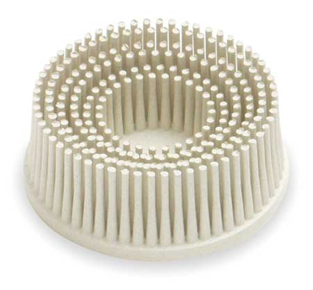 Tapered Bristle Disc, 2 In Dia, 120G