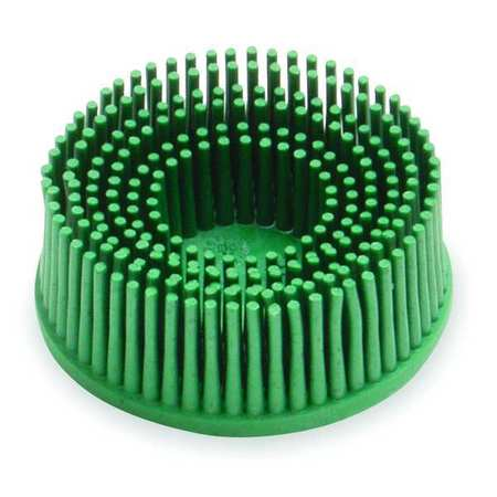 Bristle Disc, 1 In Dia, 5/8 In Trim, 50G