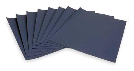 Sanding Sheet, 11x9 In, 320 G, SC