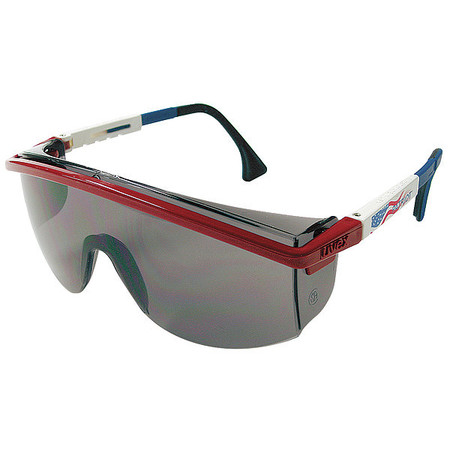 Honeywell Gray Safety Glasses,  Scratch-Resistant,