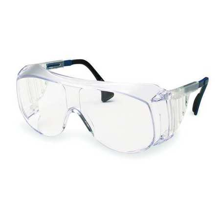Honeywell Clear Safety Glasses,  Scratch-Resistant,  OTG