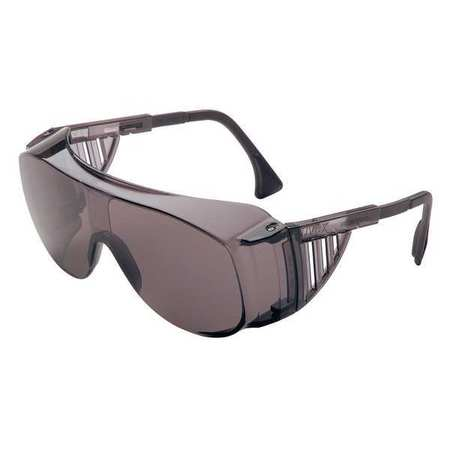 Honeywell Gray Safety Glasses,  Scratch-Resistant,  OTG