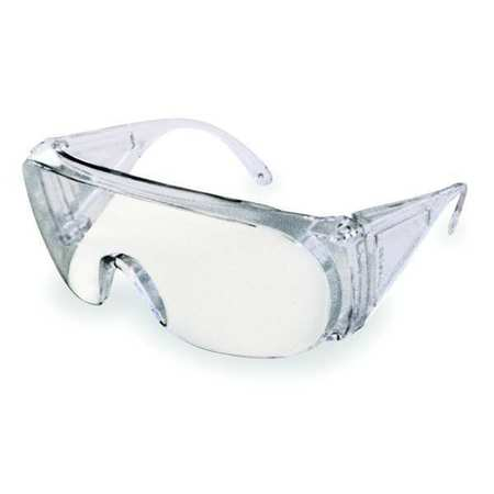 Honeywell Clear Safety Glasses,  Wraparound