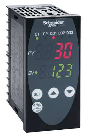 Temp Ctrl, 1 EMR, 24 VAC/VDC, 1/8DIN,  Mod