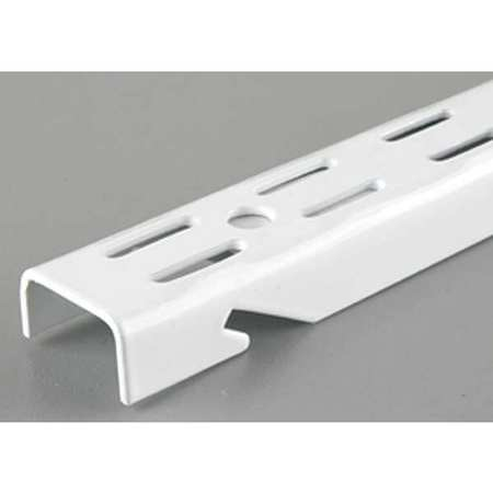 48 IN White Dual Slot Standard