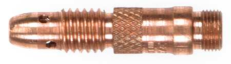 Collet Body, Copper, 3/32 In, PK5
