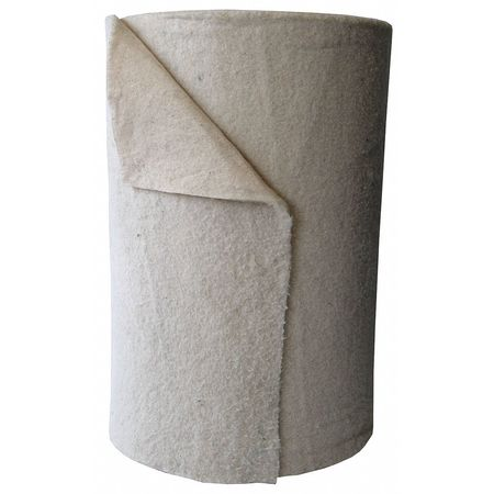 Absorbent Roll, White, 42 gal., 29-1/2 In W