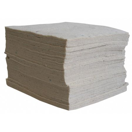 Absorbent Pads, Cotton Fibers, PK100