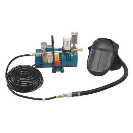 Supplied Air Pump Package, 1 Ppl, 1/4 HP