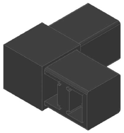 Corner Connector, 90 Deg, Series 13