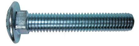 Carriage Bolt, 1/2-13x8 L, PK100