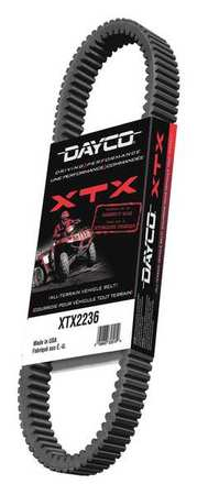 Snow/ATV V-Belt, Industry Number XTX2234
