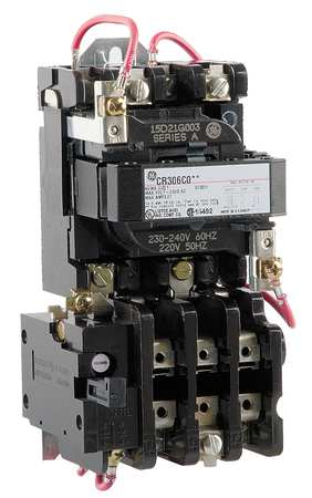 General electric magnetic motor starter nema 480v 3p for 480v 3 phase motor
