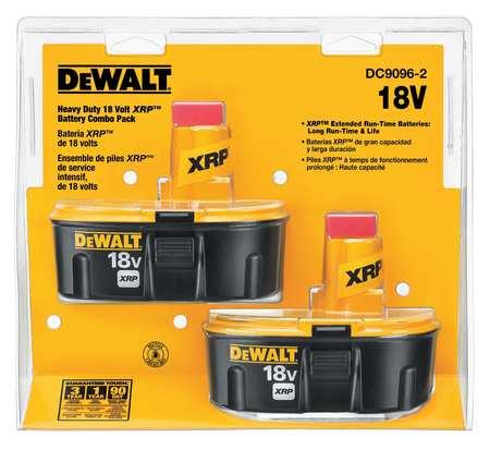 Battery Pack, 18V, 2.2Ah, NiCd, PK2