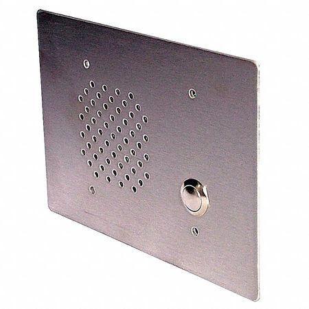 Vandal resistant call speaker,  3 g,  25V